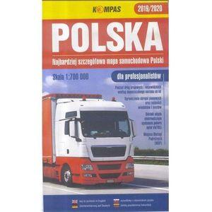 Mapa samochodowa 1:700 000 Polska dla profes., Kompas