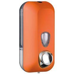 Dozownik mydła w płynie pomarańczowy 0,55 l marki Marplast