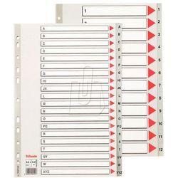 Esselte Przekładki do segregatora A4 Maxi PP szare (10K397C) Darmowy odbiór w 20 miastach!, BP10131