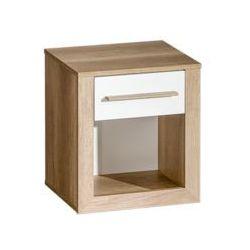 Szafka nocna z półką i z szufladą - Terra 2