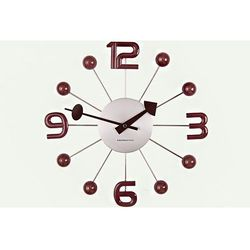 Zegar ścienny Balls by ExitoDesign, kolor Zegar