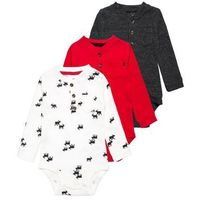 Carter's HOLIDAY 3 PACK Body multicolor/red/heather