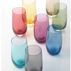 Leonardo Lo - szklanka 390 ml, szara, colori