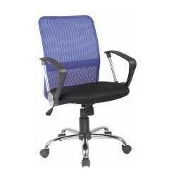 Fotel Q-078 niebiesko-czarny - ZADZWOŃ I ZŁAP RABAT DO -10%! TELEFON: 601-892-200