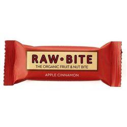 Baton orzechowy z dodatkiem jabłka i cynamonu BIO 50g RAW (zdrowa żywność)