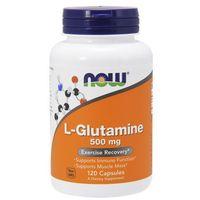 Now foods l-glutamina 500mg 120 kaps. marki Now foods, usa