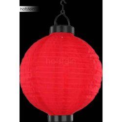 Globo SOLAR lampa solarna LED Czerwony, 1-punktowy - Lokum dla młodych/Wesoły, śmieszny - Obszar zewnętrzn