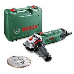 szlifierka kątowa PWS 850 + diamentowa tarcza, produkt marki Bosch