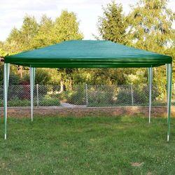 PAWILON OGRODOWY 3x4 m +2 ŚCIANKI NAMIOT HANDLOWY - Zielony - oferta [052e4e7a1755254c]
