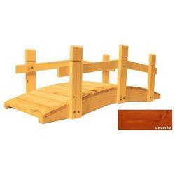 Mostek drewniany ogrodowy - 71 cm - Wiewiórka