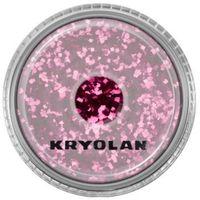 polyester glimmer coarse (maroon) gruby sypki brokat - maroon (2901) marki Kryolan