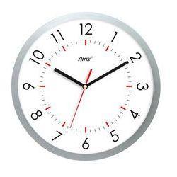 Zegar ścienny srebrny Arabic, ATE2013NT2