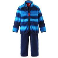 Reima Komplet polarowy dwuczęściowy  furud bluza/spodnie niebiesko-granatowy (6438088961236)