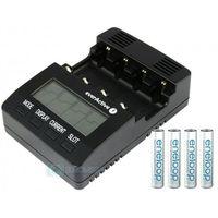 Ładowarka everActive NC-3000 + Eneloop AAA 4 x 750 mAh