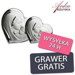 Obrazek srebrny madonna z dzieciątkiem - trzy rozmiary! od producenta Valenti & co