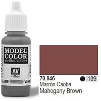 Vallejo Farba Nr139 Mahogany Brown 17ml - produkt z kategorii- Farby modelarskie