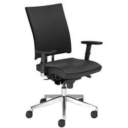 Krzesło obrotowe @-MOTION u r15k steel33 chrome - biurowe z regulacją głębokości siedziska, fotel biurowy, obrotowy