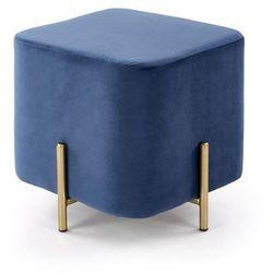 Pufa HALMAR CORNO granatowy, kolor niebieski