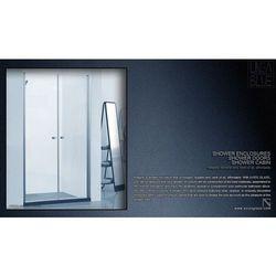 DRZWI PRYSZNICOWE AXISS GLASS AN6222K 800mm z kategorii Drzwi prysznicowe