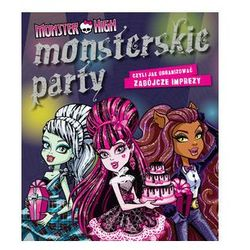 Monster High Monsterskie party, książka z kategorii Literatura dla młodzieży