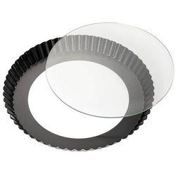 - forma do tarty ze szkalnym dnem, ⌀ 28,00 cm marki Kuchenprofi