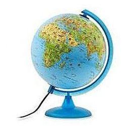 Safari globus podświetlany fizyczny/poli. 25 cm