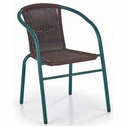 Rattanowe krzesło ogrodowe Tivoli - ciemny brąz, V-CH-GRAND_2-KR-C.BRĄZ