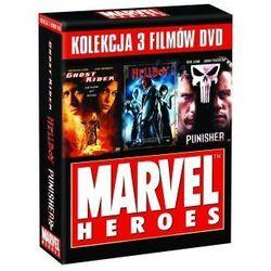 Kolekcja Komiksowa: Ghost Rider / Hellboy / Punisher (DVD) - Guillermo del Toro, Jonathan Hensleigh, Mark Stev