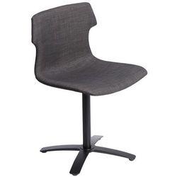 Krzesło obrotowe Techno One tapicerowane - brązowy, 63842