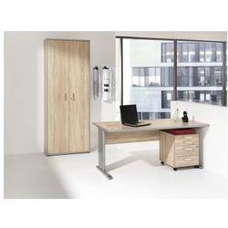 Unbekannt Jack - zestaw mebli do biura,biurko, kontener na kółkach, regał