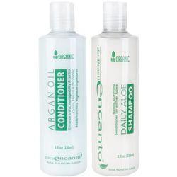 DO BRASIL Organic Daily Aloe zestaw po keratynowym prostowaniu włosów 2x236ml, Encanto z fryzomania.pl