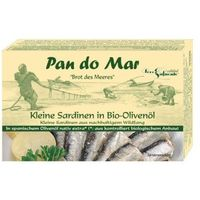 PAN DO MAR 120g Sardynki w oliwie z oliwek Bio