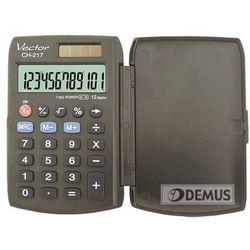- 12 - pozycyjny wyświetlacz- podwójne zasilanie- klawisz cofania- pamięć- obliczenia procentowe- zamykana, sztywna obudowa- gumowe przyciski- wymiary 95 x 63 x 10 mm- 6 lat gwarancji