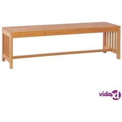 vidaXL Ławka ogrodowa, 130 cm, lite drewno eukaliptusowe, vidaxl_44400