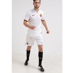 Nike Performance A.S. ROMA AWAY STADIUM Artykuły klubowe football white/kumquat/team red (0888408995407)
