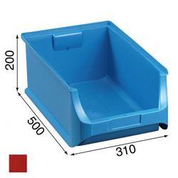 Warsztatowe pojemniki z tworzywa sztucznego - 310 x 500 x 200 mm (4005187562170)
