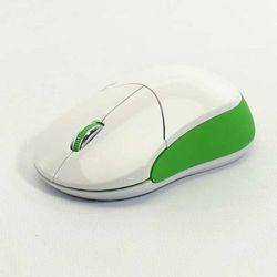 Mysz Logo Fun, optyczna,bezprzewodowa, biało-zielona Darmowy odbiór w 20 miastach! - produkt z kategorii- Myszy, trackballe i wskaźniki