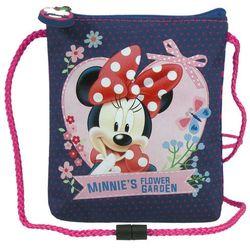 Myszka Minnie, saszetka na sznurku z kategorii artykuły szkolne i plastyczne