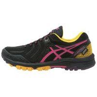 ASICS GELFUJIATTACK 5 GTX Obuwie do biegania Szlak eggplant/sport pink/lemon (8718833481874)