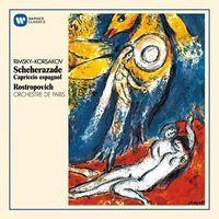Rimsky-Korsakow: Scheherezade (CD) - Mstislav Rostropovich, Orchestre De Paris