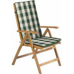 poduszka na krzesło fdzn 9101 zielone paski marki Fieldmann