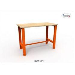 Malow Stół warsztatowy swt 12/01 z blatem roboczym o nośności 450 kg