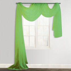 drapowana zasłona 140 x 600 cm zielona marki Vidaxl