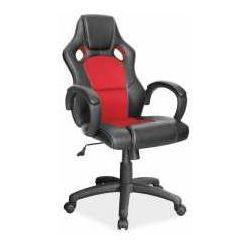 Fotel Q-103 czarno-czerwony - ZADZWOŃ I ZŁAP RABAT DO -10%! TELEFON: 601-892-200