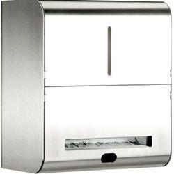 Elektroniczny pojemnik na ręczniki papierowe w roli xinox  stal szlachetna matowa wyprodukowany przez Franke