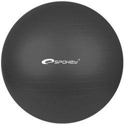 Piłka gimnastyczna FITBALL śr.55 cm + pompka Spokey (czarna) ze sklepu Fitness.Shop.pl