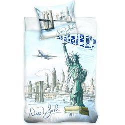 NEW YORK NOWY JORK MIASTO BAWEŁNA POŚCIEL 140X200, 4223