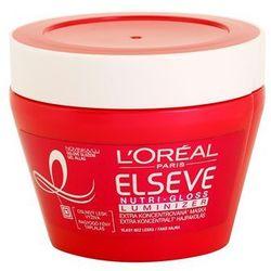 L'Oréal Paris Elseve Nutri-Gloss Luminizer odżywcza maska do włosów do nabłyszczenia 300 ml