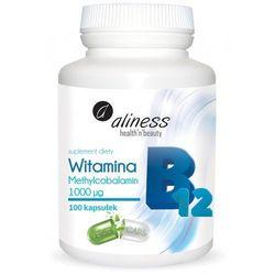 Witamina B12 Methylcobalamin 1000µg Aliness z kategorii Witaminy i minerały