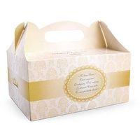 Ozdobne pudełko na ciasto weselne 1sztuka (5902230736238)